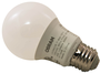 Sylvania 74081 Non-Dimmable Semi-Directional LED Lamp, 6 W, 120 V, A19,